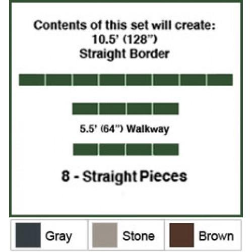 10.5 Foot Walkway Border Kit